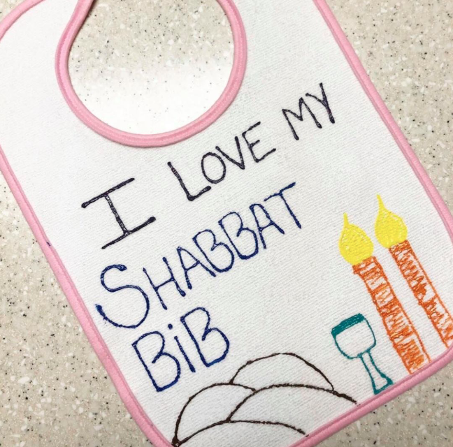 My Favorite Baby Shower Craft: Creative Bib Station