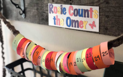 Creative Ways to Count the Omer with your Children