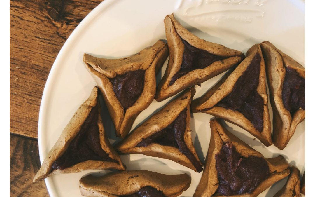 All-Date Sugar-Free Gluten-Free Hamantaschen | Healthy Purim Cookies