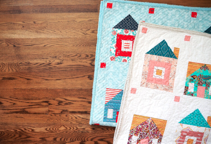 My First Quilt-a-long on Instagram: The Sweet Home Quilt