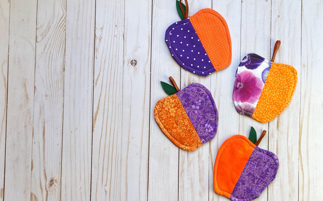 Apple Coasters: How to Sew a Fun Craft for Rosh Hashanah
